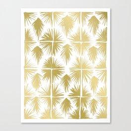 Radiate Gold Canvas Print