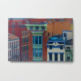 Vine Street, Over-the-Rhine Metal Print