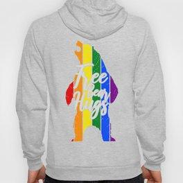 Free Bear Hugs Gay Pride LGBT Hoody