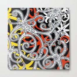Sarawak Hornbill Metal Print