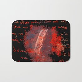 abstract feather # Bath Mat