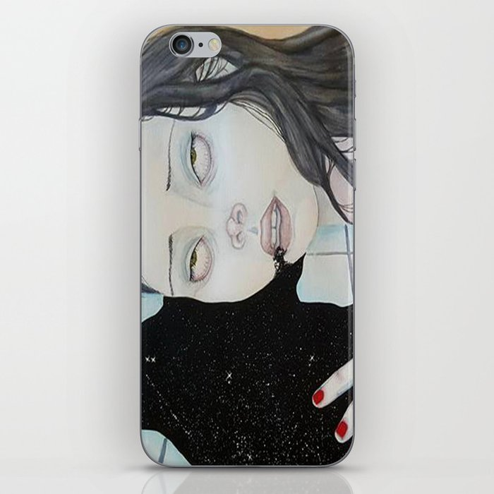 When the insides come out iPhone Skin