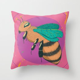 Beeyond Youself Throw Pillow