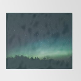 Aurora Borealis II Throw Blanket