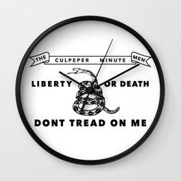 Historic Culpeper Minutemen flag Wall Clock