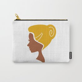 Creative vintage Girl Carry-All Pouch