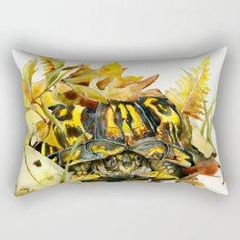 Eastern Box Turtle Rectangular Pillow
