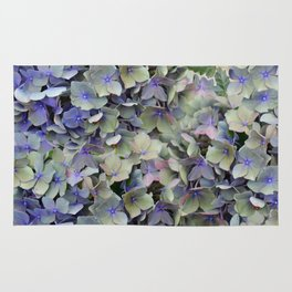Soft Multi Color Hydra and Ivy leaves Rug
