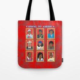 Coming to America Tote Bag