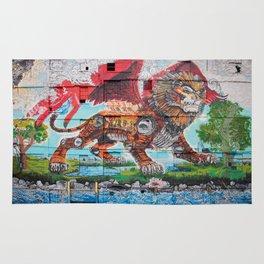Detroit Chimera ( kī-ˈmir-ə ) Rug