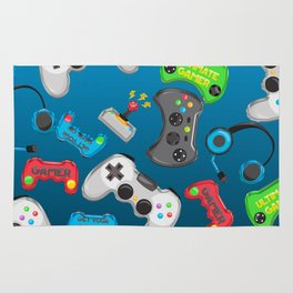 Video Games Rug