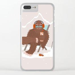 Long Island Iced Yeti Clear iPhone Case