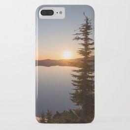 Sunrise at Crater Lake iPhone Case