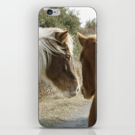 Horse Conversations iPhone Skin