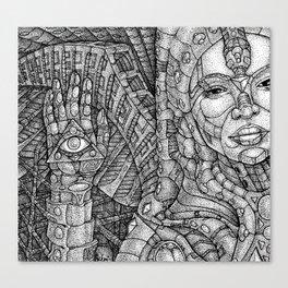 HYPERMUSE Canvas Print