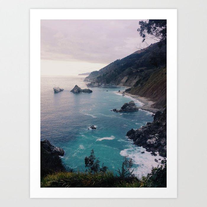 Big Sur Sunset Art Print