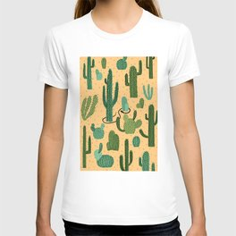 The Snake, The Cactus and The Desert T-shirt