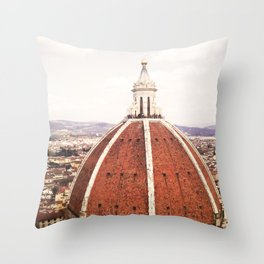 Duomo - Hazy Throw Pillow