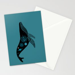 Whale Soul & the Galactic Tour Stationery Cards