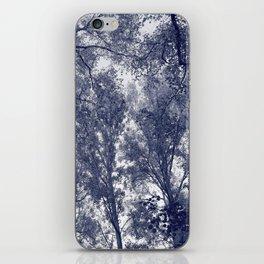 Blue Autumn iPhone Skin