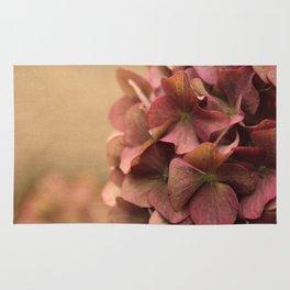 Hydrangea Flowers Rug