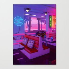 Cocktails And Dreams Canvas Print