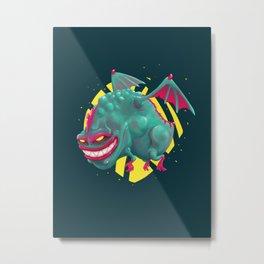 Kandy the Toxic Dragon Metal Print
