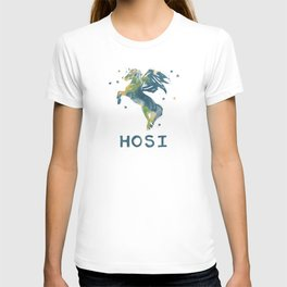 Hosi on Map for light colored Tshirts T-shirt
