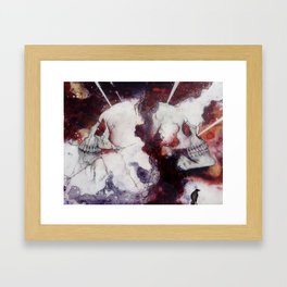At Sixes and Sevens Framed Art Print