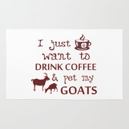 Coffee & Goats Rug
