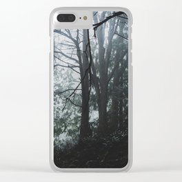 PNW Forest Clear iPhone Case