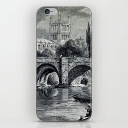 Cathedrals, abbeys and churches of England and Wales iPhone Skin