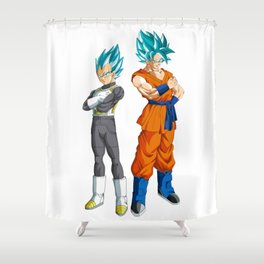 Dragon Ball Z Shower Curtains