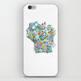 Wisconsin Wildflowers iPhone Skin