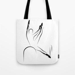 Pilates pose6 Tote Bag