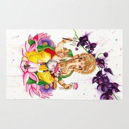 Ganesha and Candy Rug
