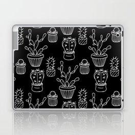 Cactus - black Laptop & iPad Skin