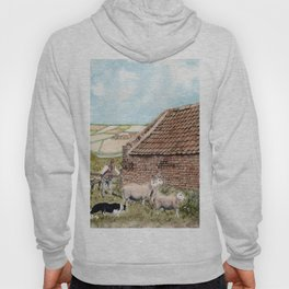 Farm Shed with Sheep Hoody