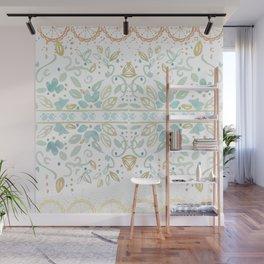 Boho floral Wall Mural