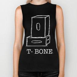 T-Bone Apple box (white) Biker Tank