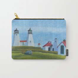 Plymouth Lighthouse Carry-All Pouch