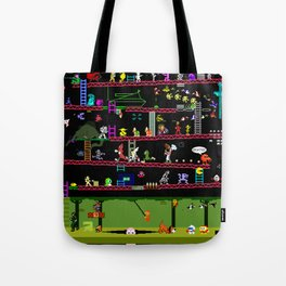 50 Classic Video Games Tote Bag