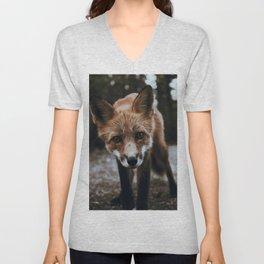 Curious Fox / Alaska Unisex V-Neck