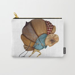 Illustration Homeless Man  Carry-All Pouch