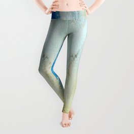 Swirling Flirtatious Abstract Happiness Leggings