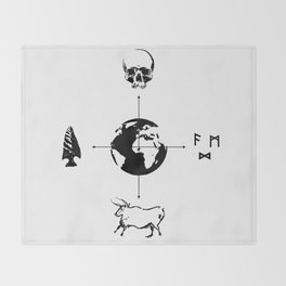 Anthropology: The Four Subdisciplines (Version 2.0) Throw Blanket