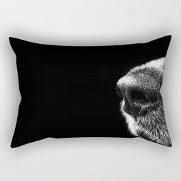 Sneaky Dog Rectangular Pillow