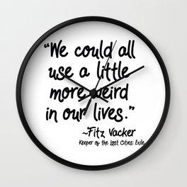 Fan-favorite Fitz Quote Wall Clock