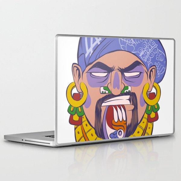 DTM Azteca Laptop & iPad Skin