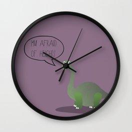 Dinophobia Wall Clock
